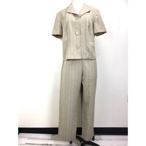 Vintage 90s Two Piece Suit Set